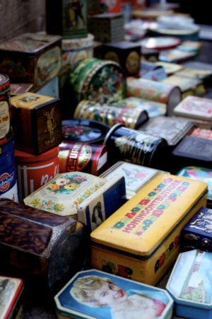 Amsterdam Waterlooplein flea market via Passion and Obsession Blog