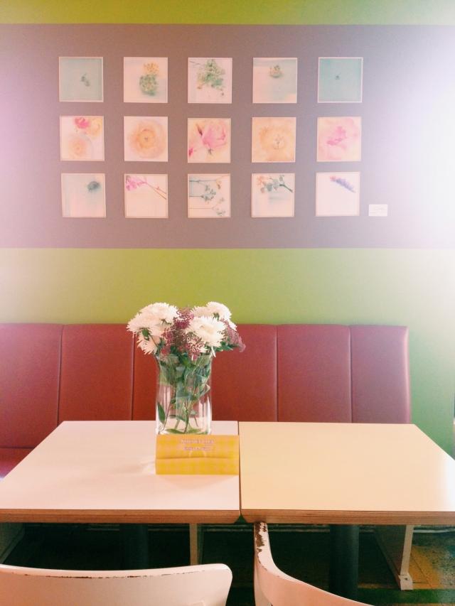 Stilzitat flower exhibition Kitchen Club Dortmund via Passion and Obsession blog