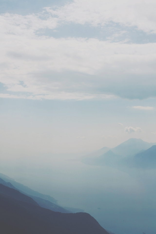 view from Monte Baldo on Lake Garda via Stilzitat blog