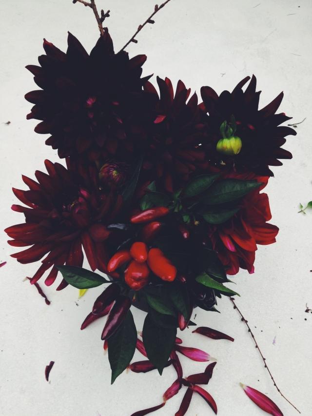 Dark Dahlias via Stilzitat blog