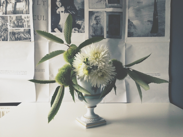 White Dahlias via Stilzitat blog