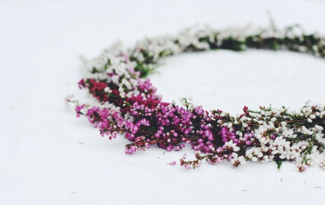 Erika Heather wreath via Stilzitat blog