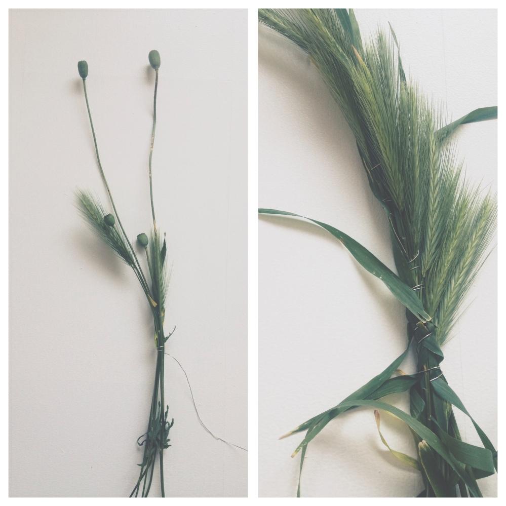 Summer wreath DIY via Stilzitat blog