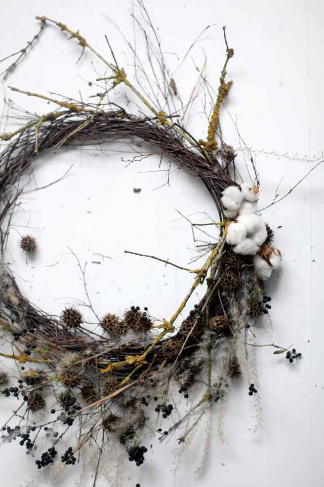 stilzitat winter wreath