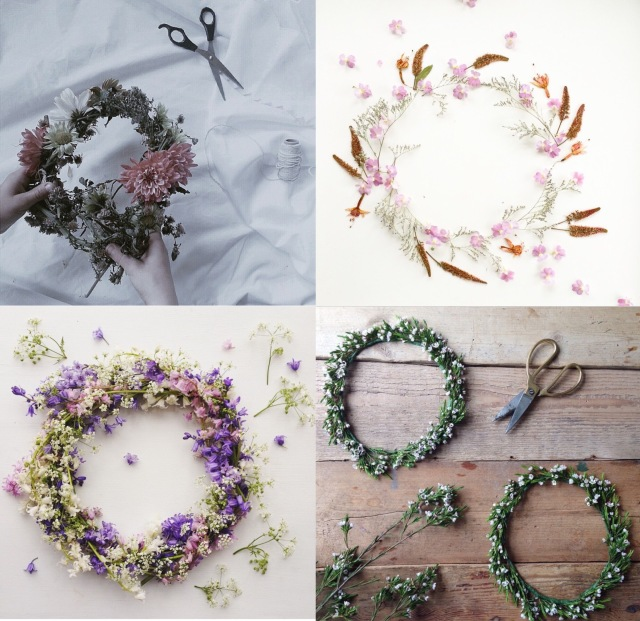 Wreath of the month - via Stilzitat blog